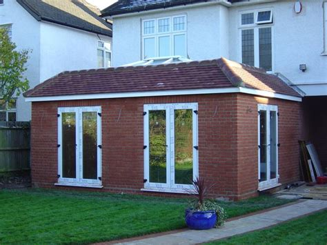 roof types single and double pitched roofs ekobustas single storey double aspect rear extension with roof