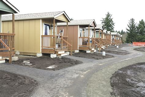 Tiny House Community For Homeless by Tiny House Community For Homeless This Community Is