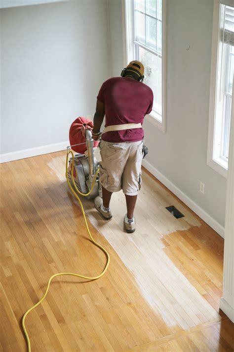 insight and tips for refinishing hardwood floors sand