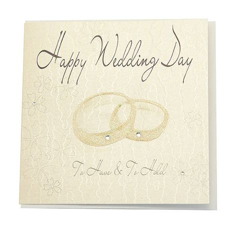 Wedding Gift Greetings by Wedding Card Happy Wedding Day Giftbagshop Co Uk