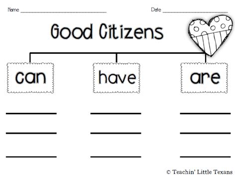 Citizenship Worksheets by Printables Citizenship Worksheets Happywheelsfreak