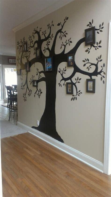 Handmade Family Tree Ideas - my family tree home decor