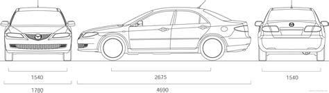 mazda 4 door cars the blueprints com blueprints gt cars gt mazda gt mazda 6 4