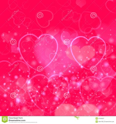 pink valentines day valentines day background with pink hearts royalty free