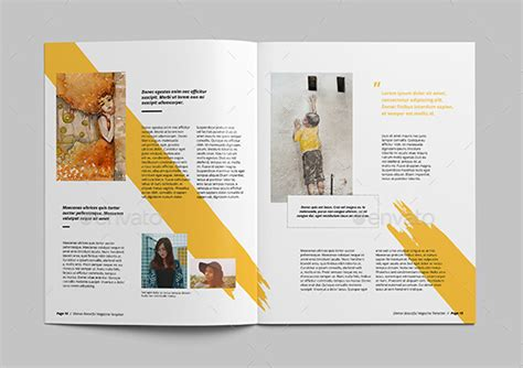magazine layout in indesign 10 best art magazine templates photoshop psd and indesign