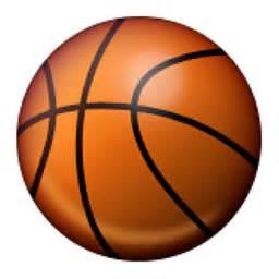 Basketball and Hoop Emoji (U 1F3C0/U E42A)