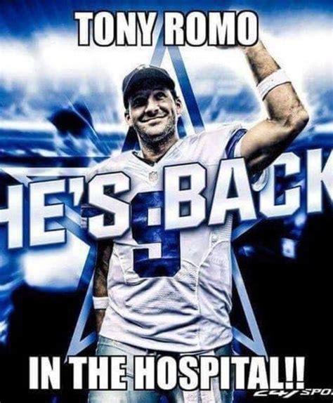 Romo Memes - tony romo back injury memes the best of the internet s