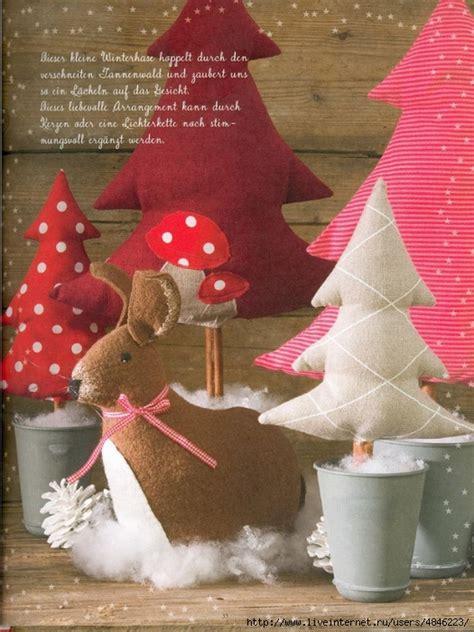 plantilla para hacer 225 rboles de navidad en tela el blog