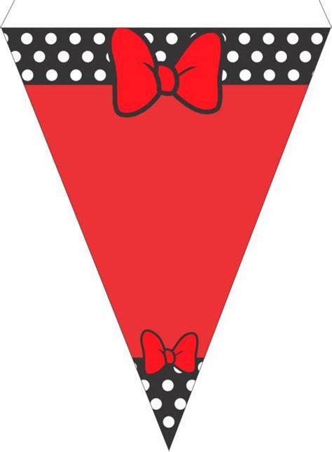 Banner Hbd Mickey Mouse festa da minnie vermelha 50 ideias simples