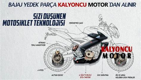motosiklet yedek parca ve aksesuarlari kalyoncu motor