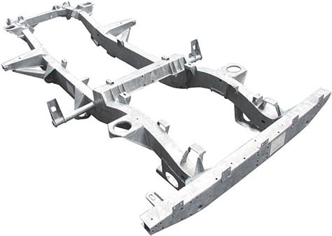 Silet Astra Superior galvanized chassis for defender 90 american spec
