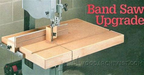 woodworking jigs and fixtures band saw table plans band saw tips jigs and fixtures