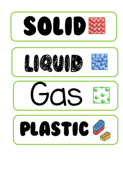 new year teaching resources ks2 states of matter ks2 year 4 display vocabulary by new2013
