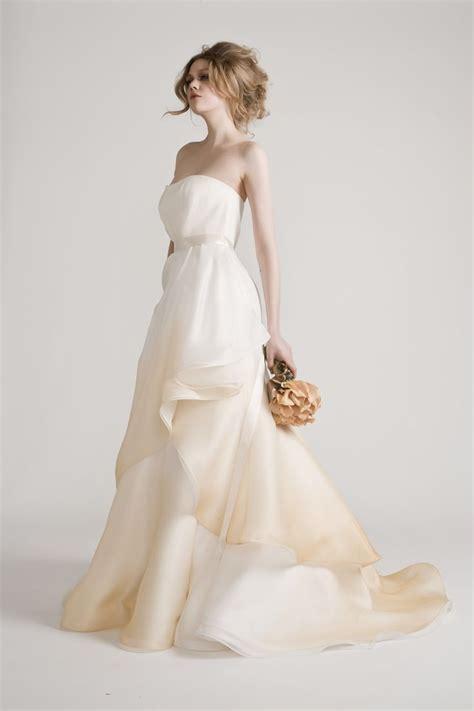 ombre wedding dresses junko yoshioka ombre wedding dress love pinterest