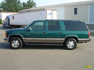 emerald green metallic 1996 chevrolet suburban k1500 4x4