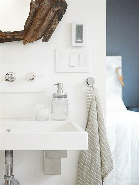 bathroom hand towel hooks driftwood vanity mirror transitional bathroom