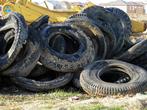 tires  recycled recycling center