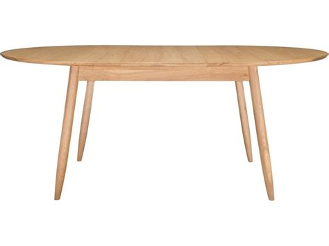 ercol teramo oak small extending dining table longlands