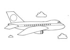 free printable airplane coloring pages preschoolers coloring point
