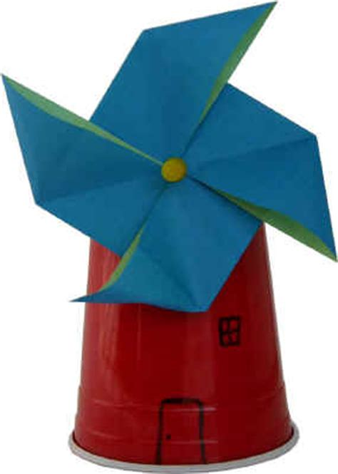 Paper Windmill Craft - how to make a windmill at home by sahil tarfe alchetron
