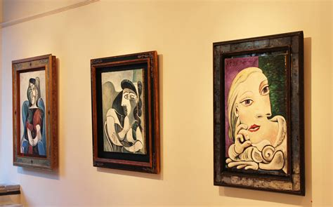 picasso paintings exhibition ricardo cinalli a ravishing muse an irreverent homage