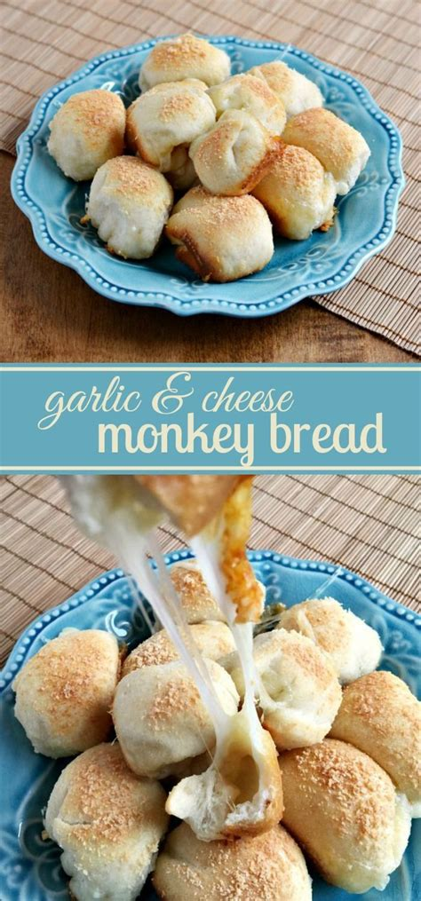 Garlic Cheese Bread Machine Recipe Garlic Amp Cheese Monkey Bread Recipe Aka Cheese Bombs
