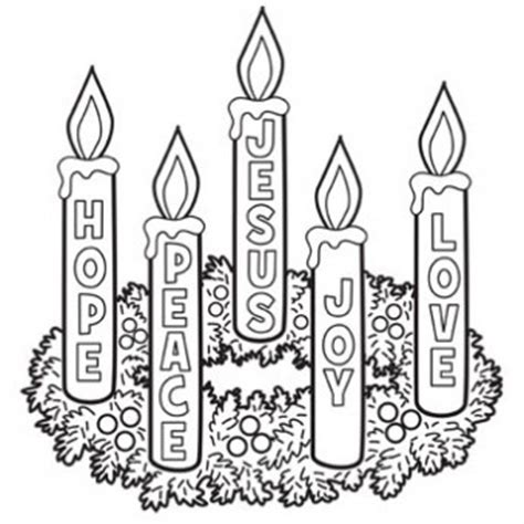 advent wreath coloring page catholic advent wreath coloring page free christmas recipes