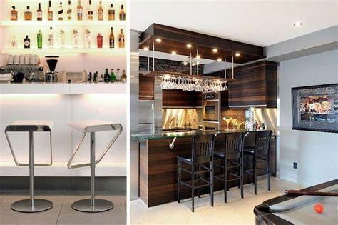 ideas  instalar  bar en casa decofilia barras