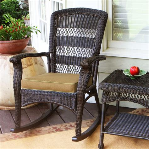 wicker patio chairs shop tortuga outdoor portside roast wicker patio