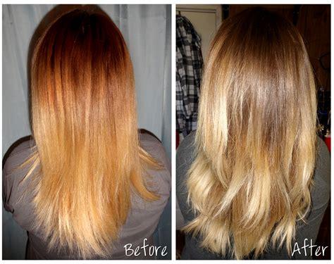 toner after bleaching copper hair hair toner blonde highlights dark brown hairs