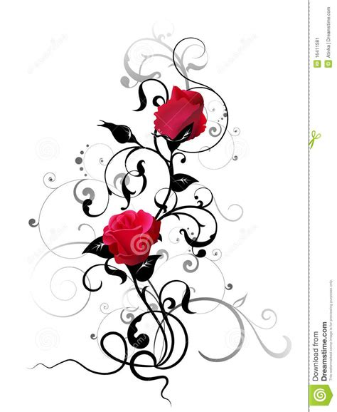 rose element stock image image 16411581