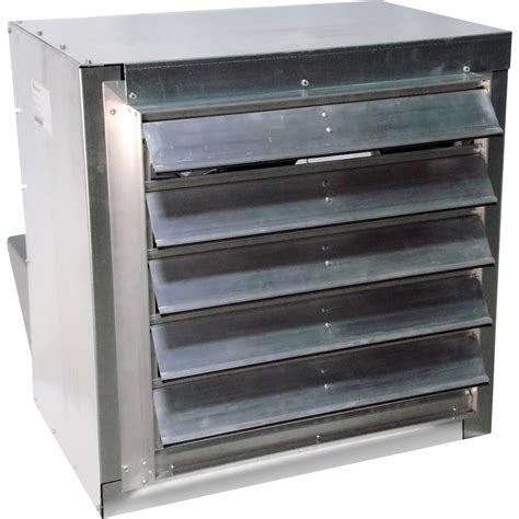 direct drive exhaust fans with shutters canarm direct drive wall exhaust fan with cabinet
