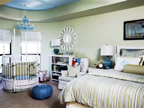 crib next to bed 26 round baby crib designs for a colorful and cozy nursery