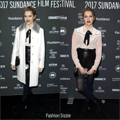 teresa palmer movie 2017 teresa palmer in miu miu at berlin syndrome sundance