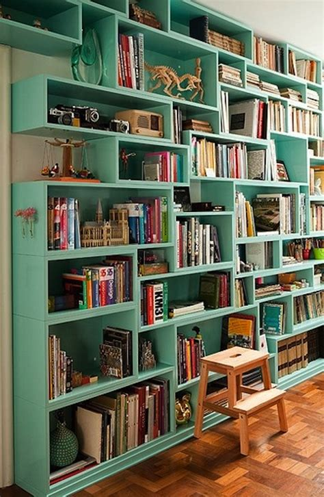 Books And Bookshelves 50 Bookshelves Designs