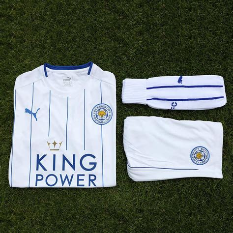 Original Jersey Leicester 16 17 Home Bnwt leicester city 16 17 third kit released footy headlines