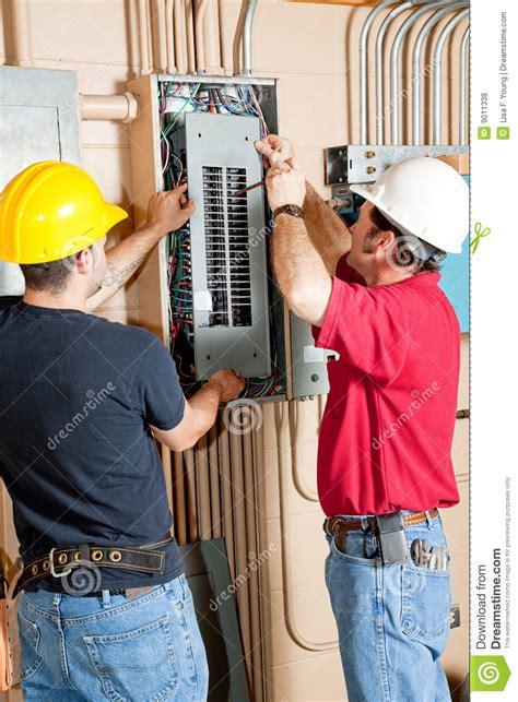 breaker box repair electrical breaker panel repair royalty free stock photos