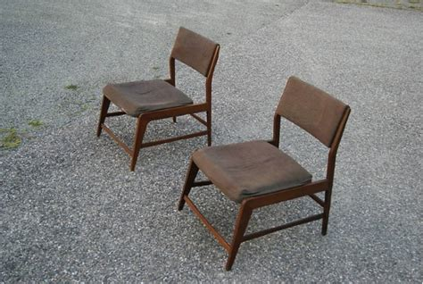 Sleeper Chairs For Sale by Italian Pair Of 1950 S Sleeper Side Chairs For Sale