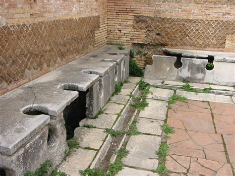The History Blog 187 Blog Archive 187 First Roman Wood Toilet
