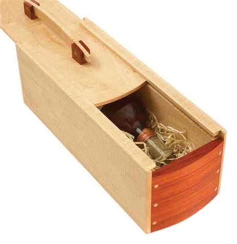 gift perfect wine box woodworking plan  wood magazine