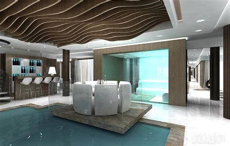 home inside design warszawa rezydencja katowice projekt wnętrz basenu spa projektowanie wnętrz artdesign