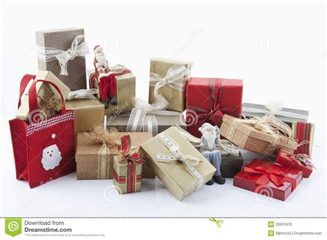 christmas parcels stock photo image 20951870