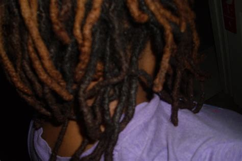 color dreads dying to dye tips for dyeing locs loc d and loving it