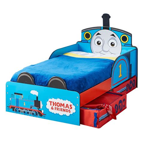 thomas and friends bed thomas friends mdf toddler bed with storage new tank
