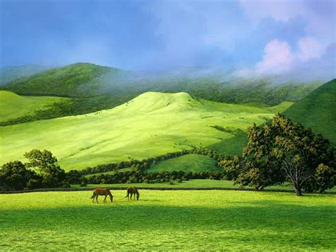 imagenes paisajes cos verdes im 225 genes arte pinturas espectaculares paisajes verdes