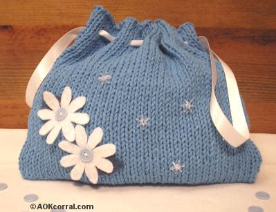 knitting purses for beginners how to knit a purse