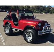 Sell Used 1981 Jeep CJ5 Renegade 42L In San Diego