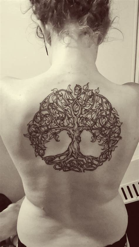 tree of life back tattoo tree of on back for