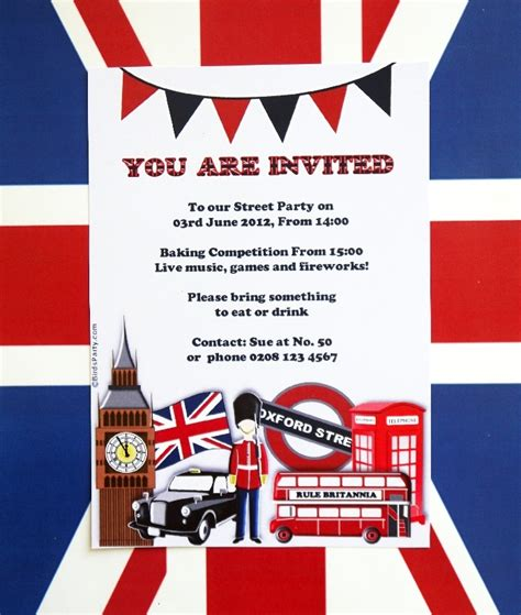 themes for english play london themed invitations google search london themed