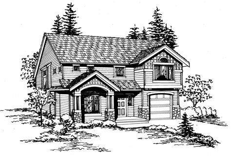 dual master suites plus loft 15801ge architectural two bedroom traditional house plan 23005jd 2nd floor